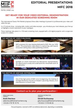 Mifc2018 Editorial Presentations